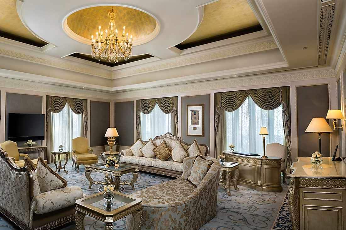 Royal Khaleej Suite lounge