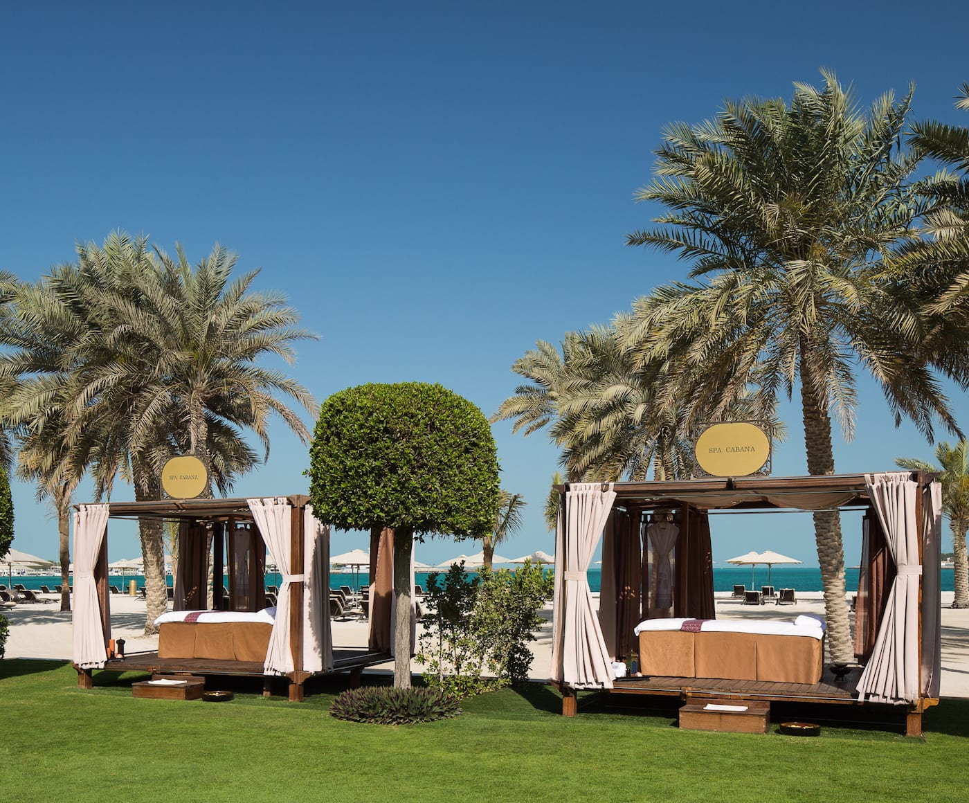 Spa Beach Cabanas, Emirates Palace
