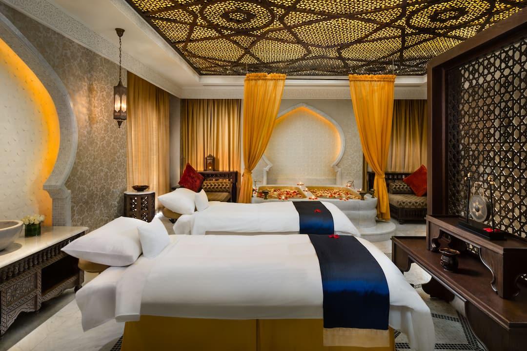 Emirates Palace spa treatment room