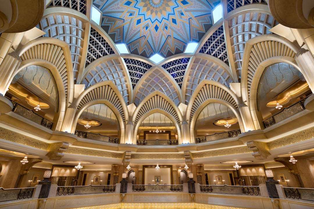The Dome of Emirates Palace
