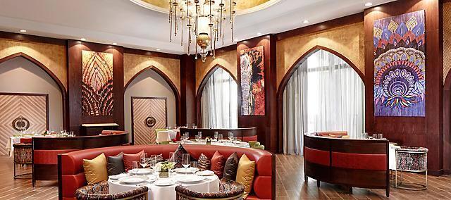 Martabaan by Hemant Oberoi, Mandarin Oriental, Emirates Palace, Abu Dhabi