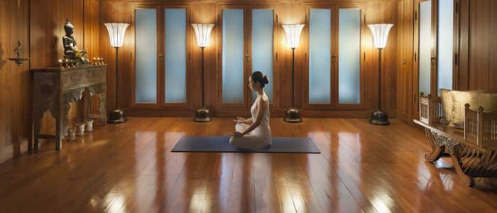 Yoga at The Oriental Spa