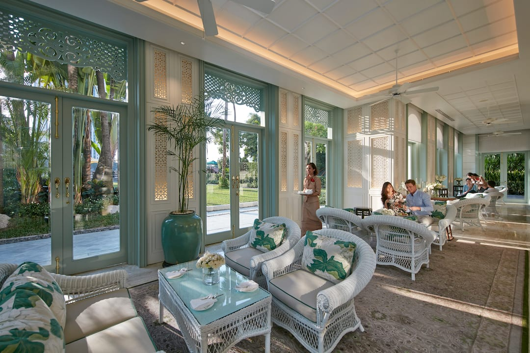 josef conrad terrace at mandarin oriental, bangkok