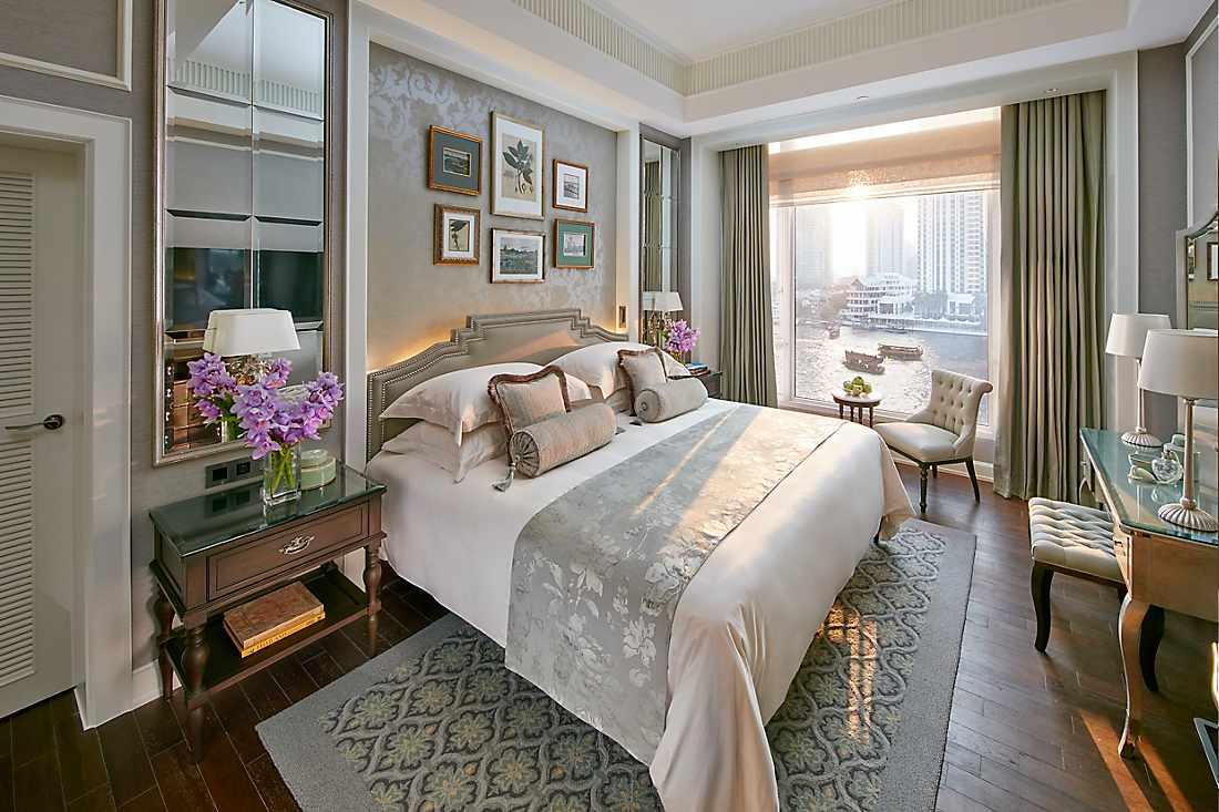 chao phraya suite bedroom