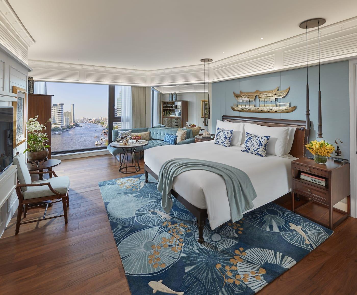 Deluxe Premier Room bedroom