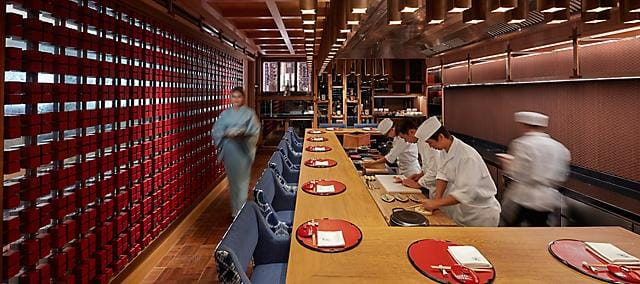 Kinu by Takagi at mandarin oriental, bangkok