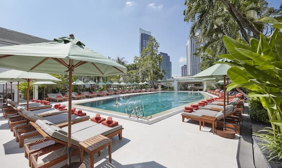 Pool at Mandarin Oriental, Bangkok