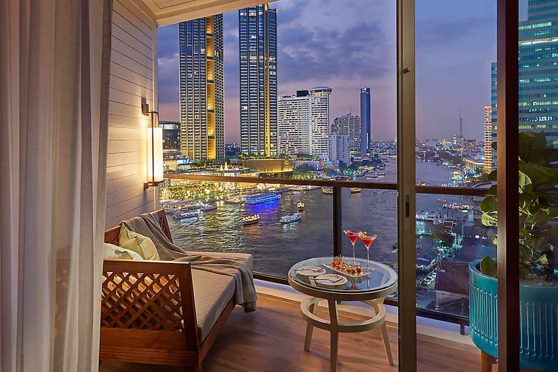 view of city from Deluxe Balcony Room