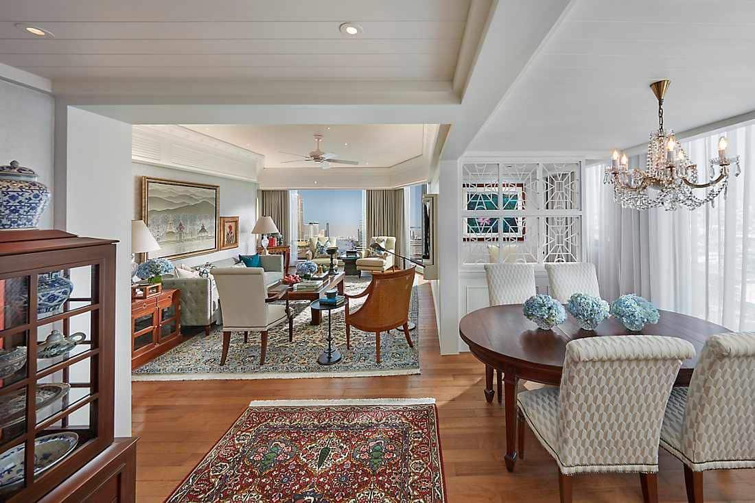 Selandia Two-Bedroom Suite living room