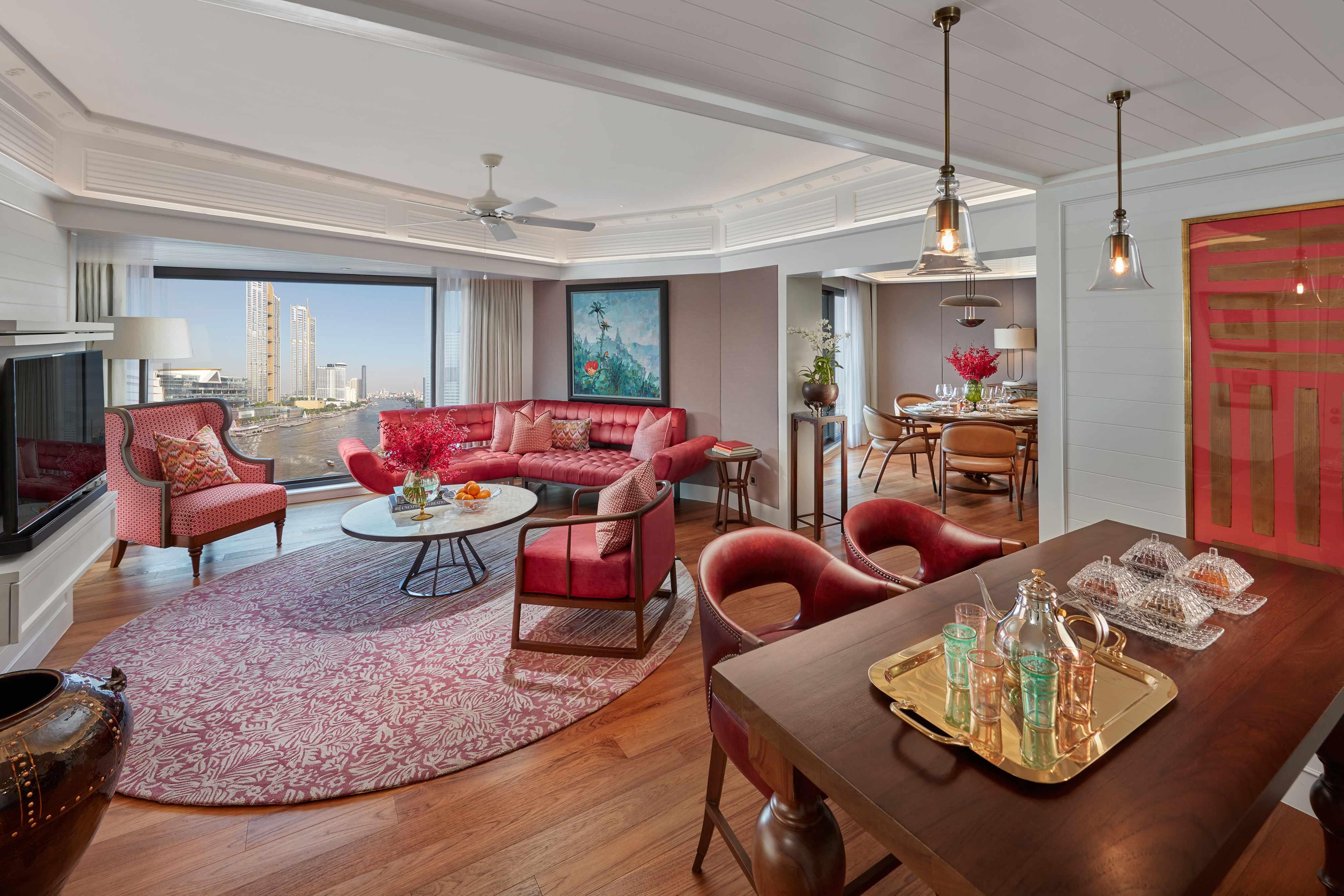 Premier Two Bedroom Suite Luxury Suite Mandarin Oriental Bangkok