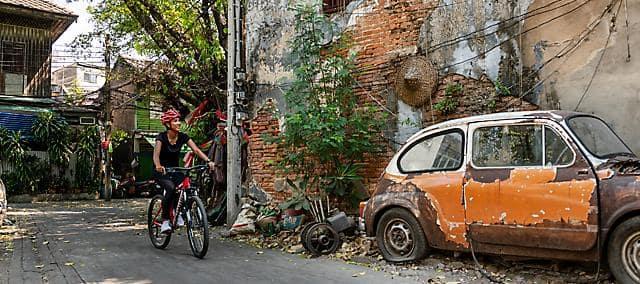 bangkok bike ride streets