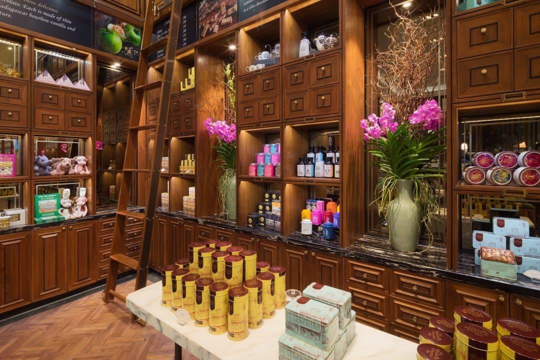 The Mandarin Oriental Shop Konditoreien Am Chao Phraya Fluss