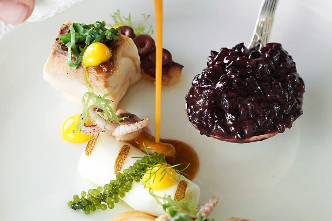 caviar with fish by le normandie at mandarin oriental, bangkok