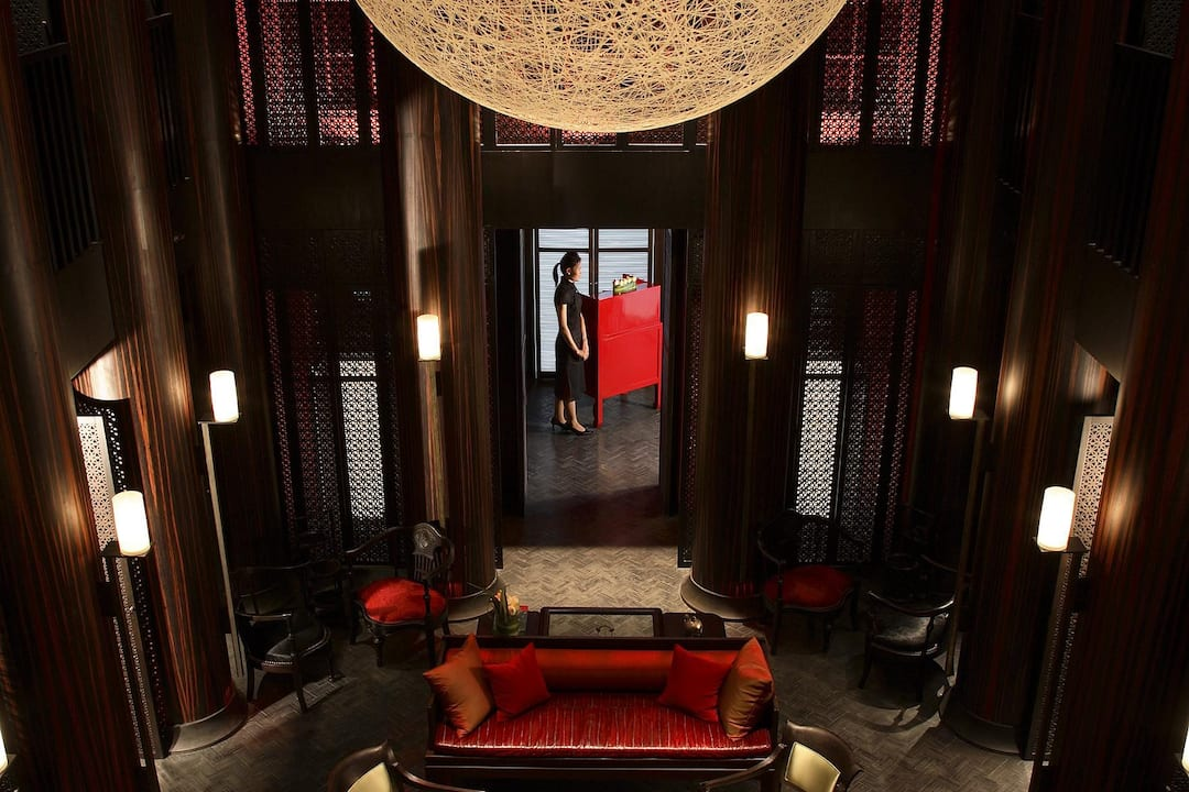 interior of the china house at mandarin orental, bangkok