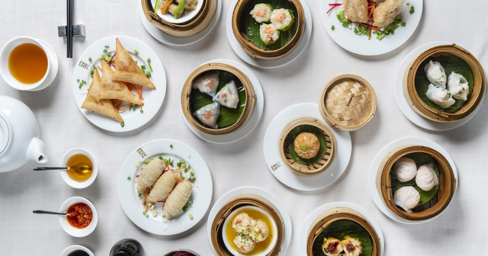 various dishes from the china house