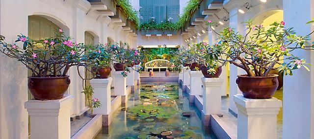spa garden at mandarin oriental, bangkok