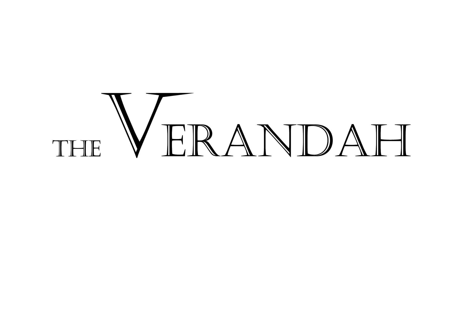 The Verandah Official Logo