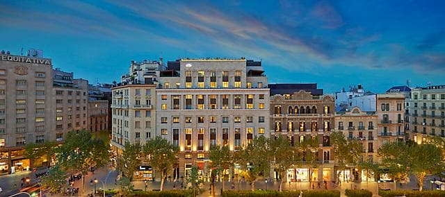 Luxury 5 star hotel passeig de gracia mandarin for Hotel gracia barcelona