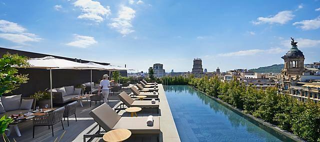 Rooftop terrace of Terrat