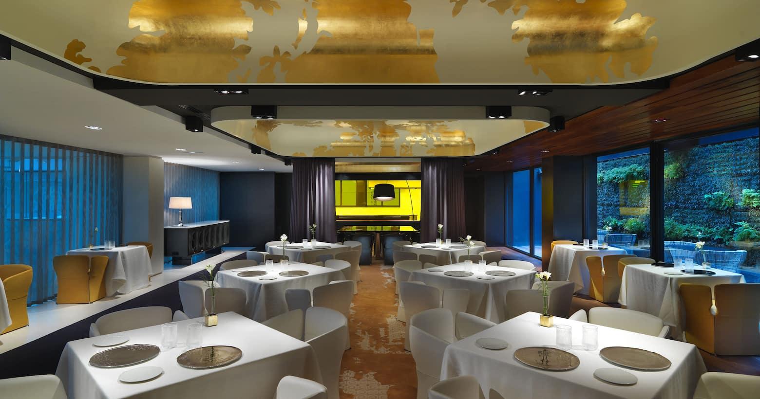 Barcelona fine dining mandarin oriental hotel barcelona - Hotel mandarin restaurante ...