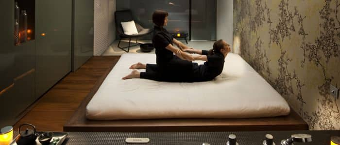 Spa Thai Futon Treatment room