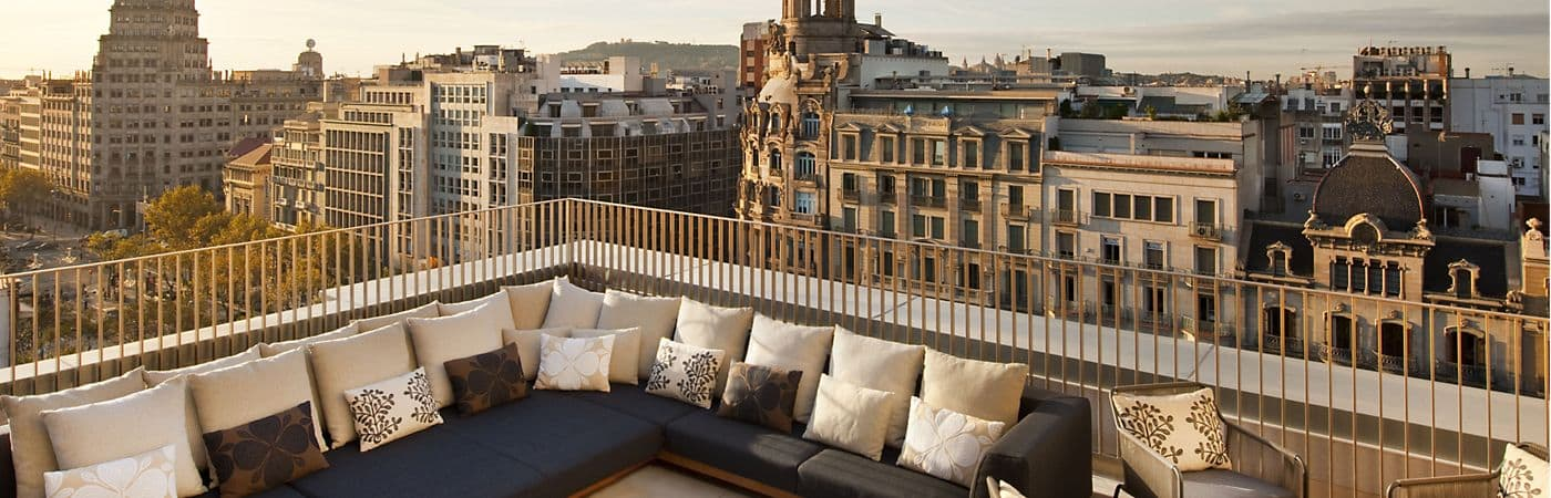Hotel venue for events and weddings at Mandarin Oriental, Barcelona.