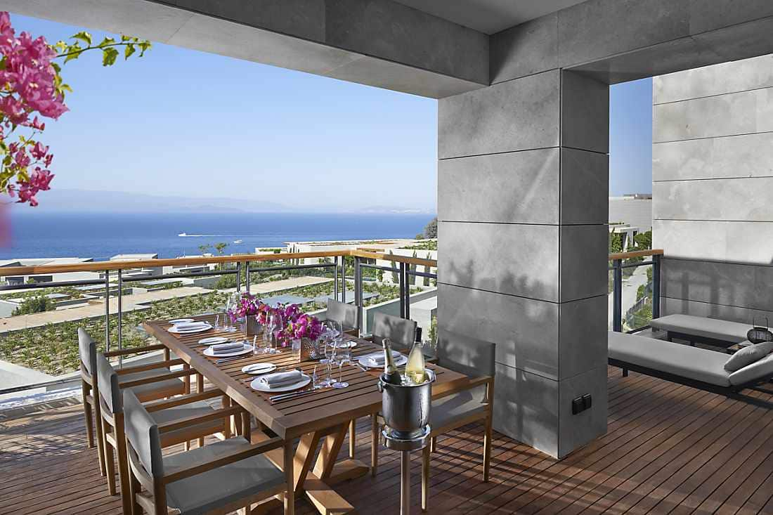 Two Bedroom Sea View Apartment terrace