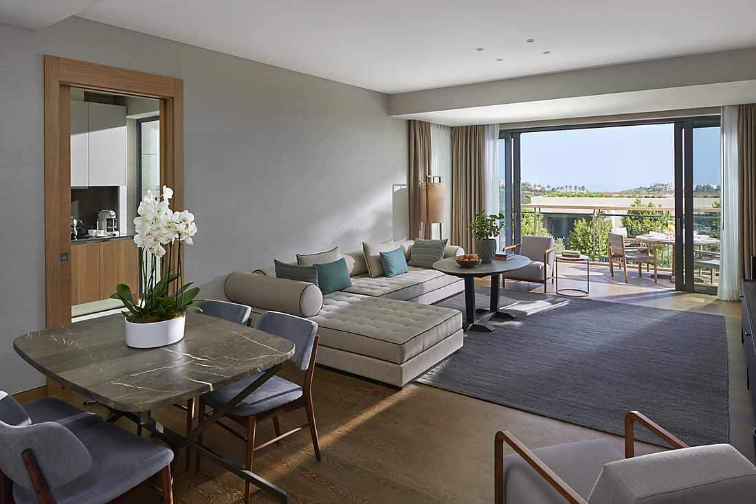 Two Bedroom Sea View Apartment living room