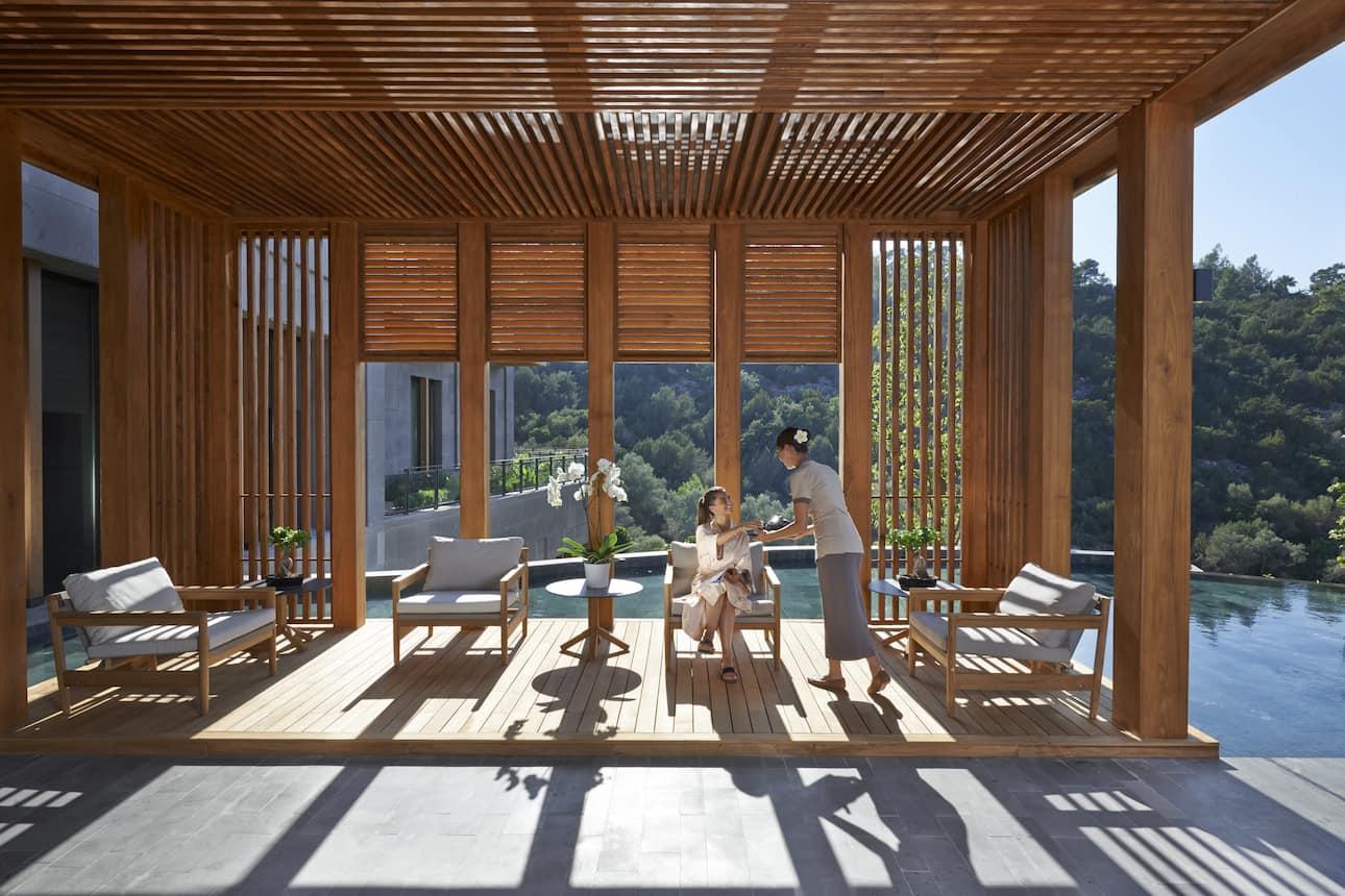 tea lounge in bodrum