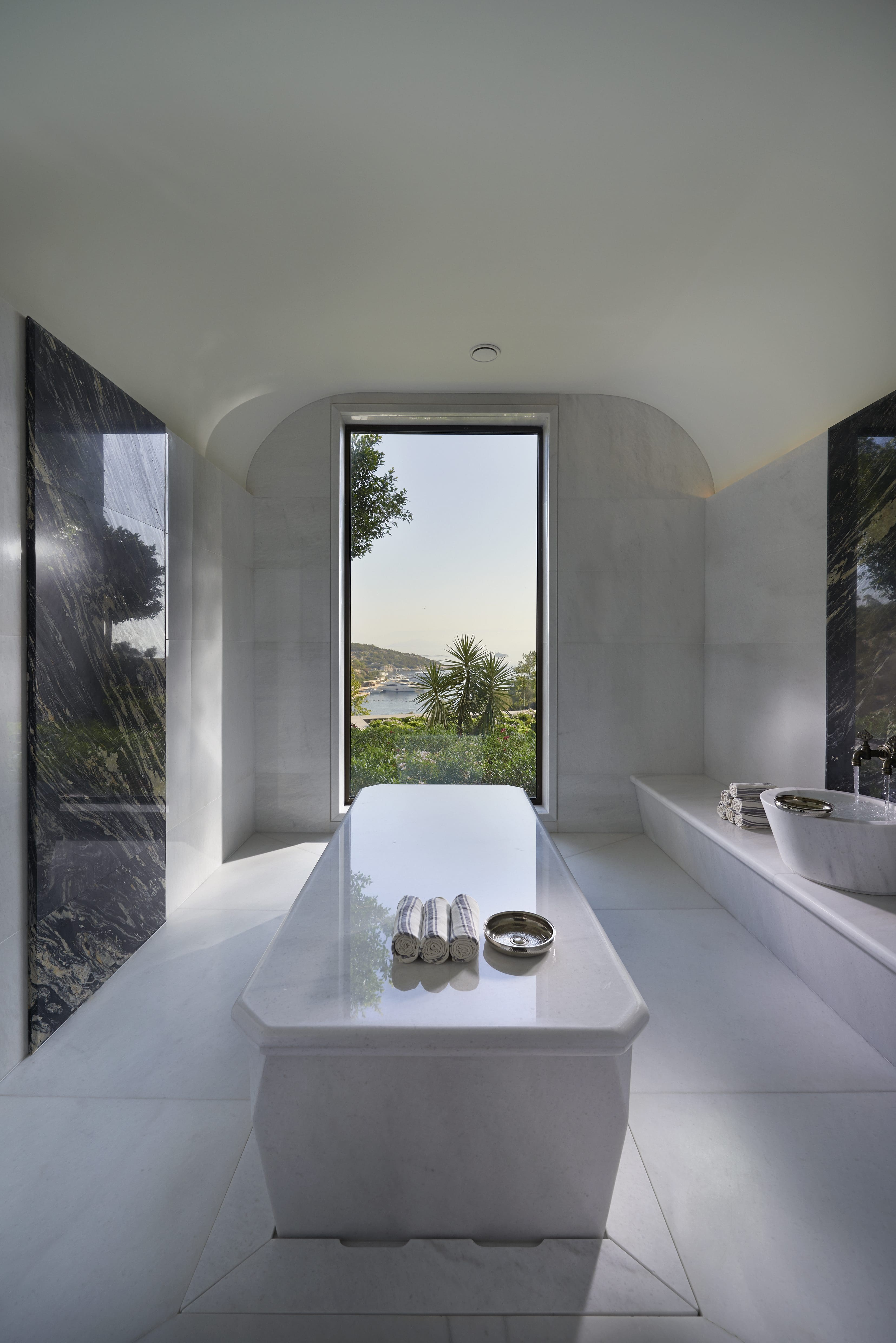 Marble spa suite at Mandarin Oriental, Bodrum