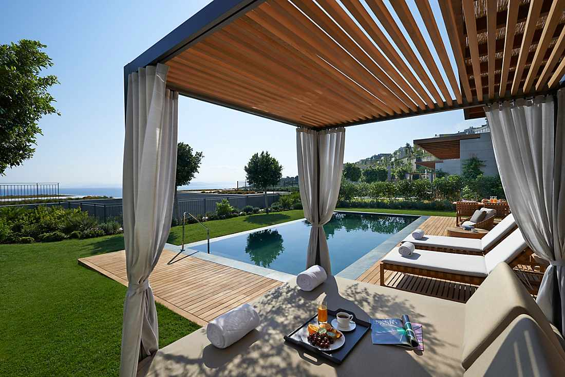 Mediterranean Suite with Private Pool terrace