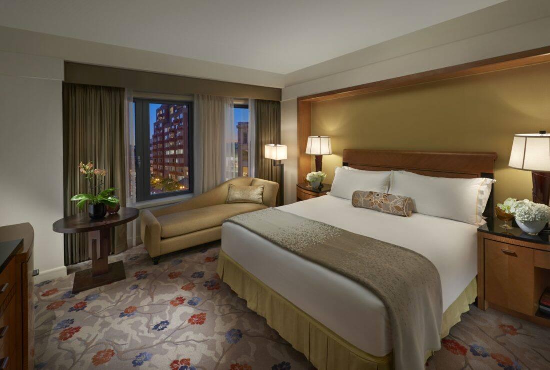 luxury accommodations in back bay | mandarin oriental, boston