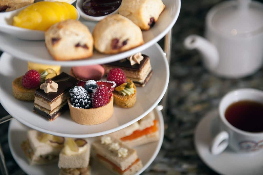 Holiday Champagne Afternoon Tea