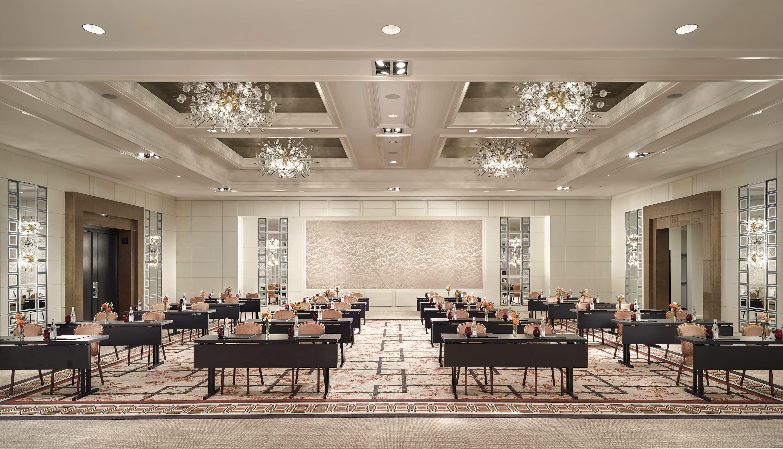 renovated meeting ballroom