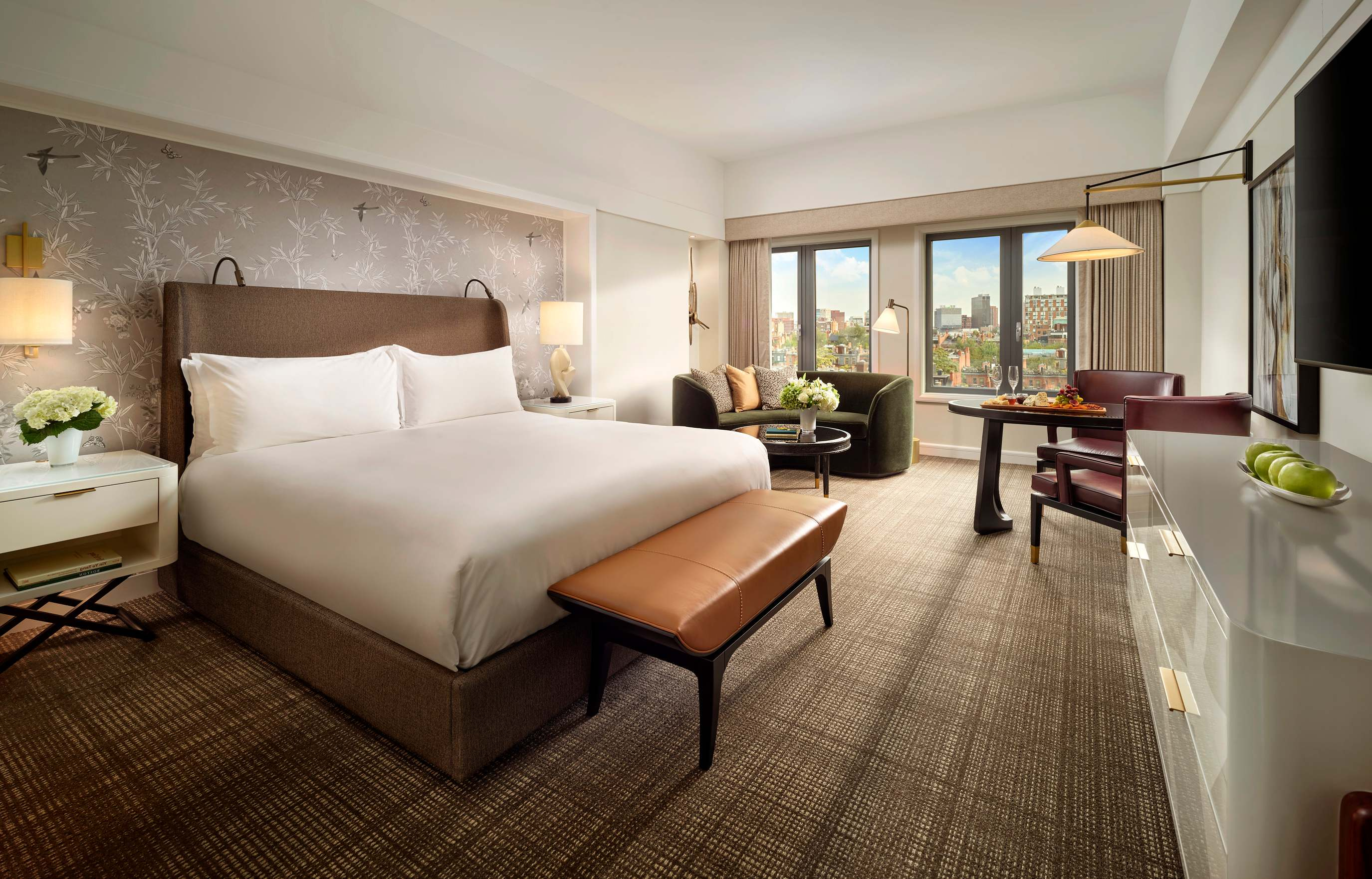Newly Renovated Premier Deluxe Room at Mandarin Oriental Boston