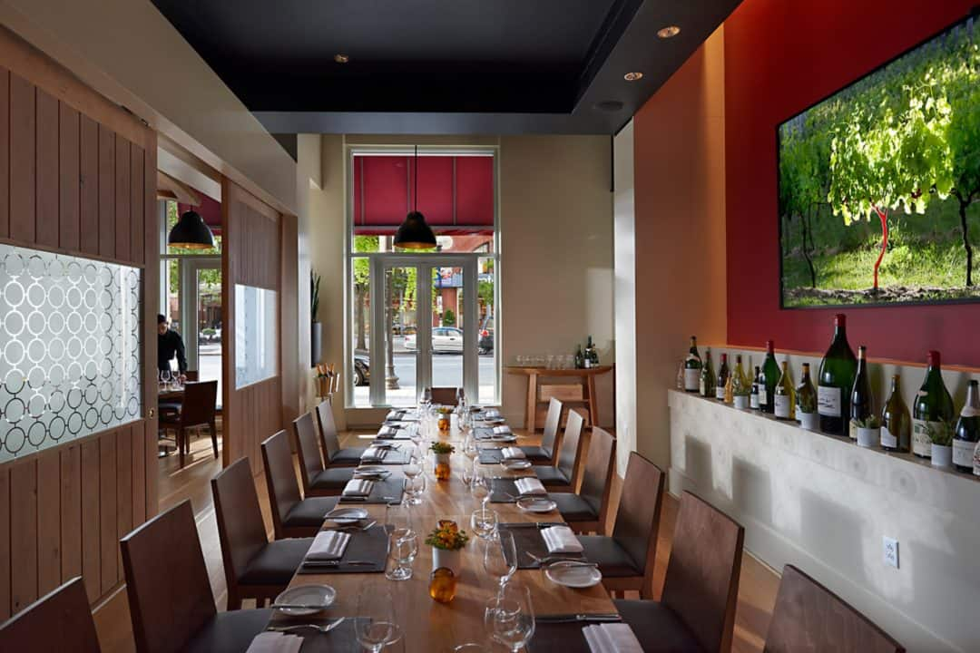 Private Dining Room Boston Private Fine Dining Boston  Bar Boulud  Mandarin Oriental Boston