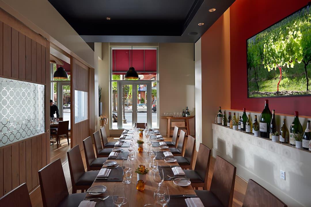 Private Fine Dining Boston Bar Boulud Mandarin Oriental Boston - Private table restaurant