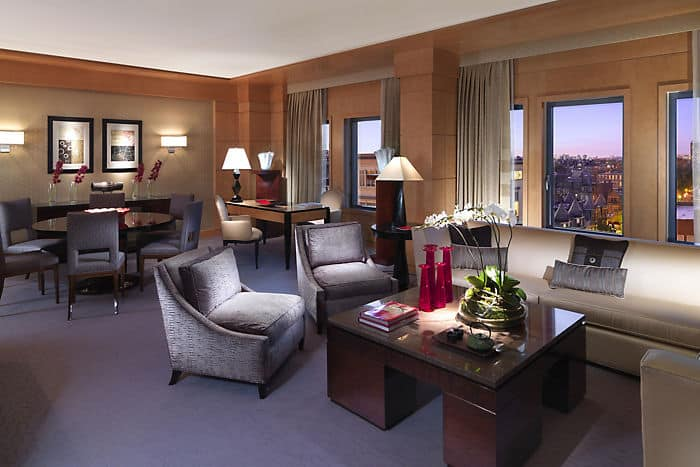 Our luxurious hotel accommodations are designed in a Modern art style incorporating chic Art Deco touches.