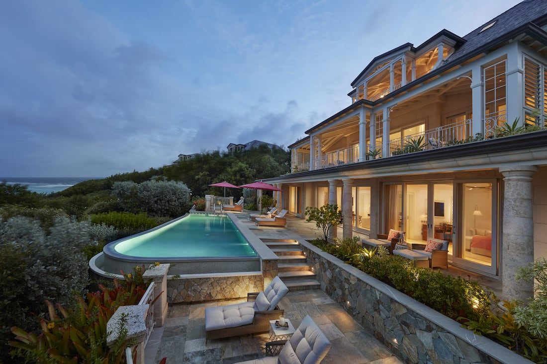 New Lagoon Villas are a luxurious addition at Mandarin Oriental, Canouan