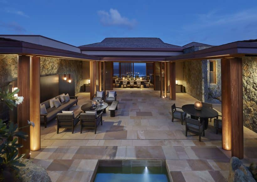 New Patio Villas are a luxurious addition at Pink Sands Club, Canouan