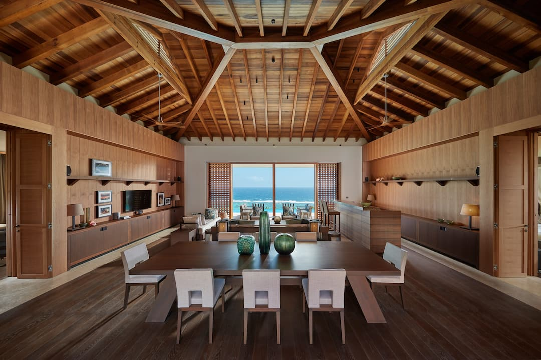 villa interior living room