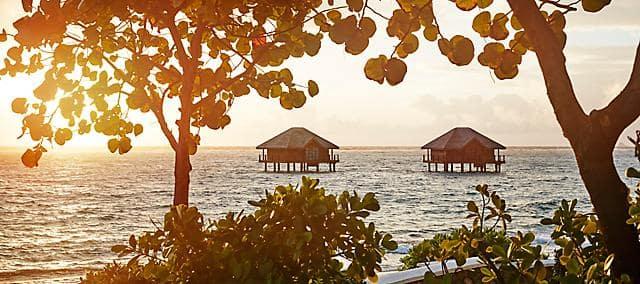 cabanes spa sur l'océan
