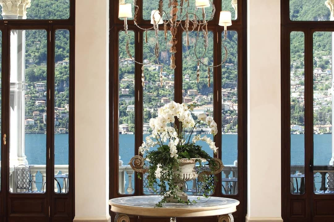 Romantic 5 star hotel on lake como castadiva resort spa mandarin oriental lake como - Casta diva group spa ...