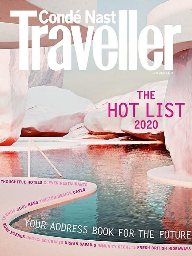 Condé Nast Traveller, UK -  Hot List