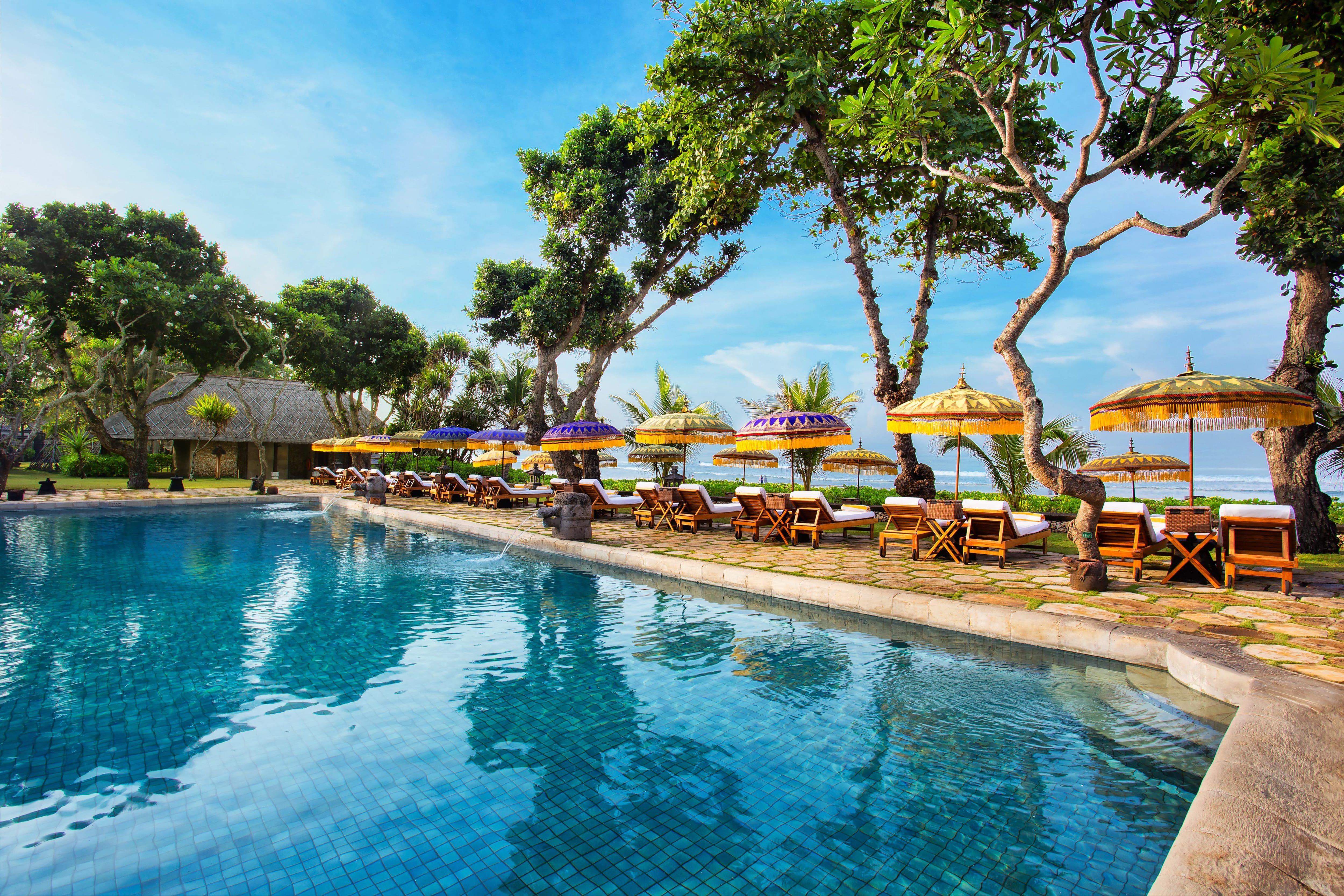 Pool at Oberoi Bali