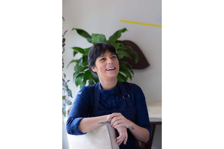 Portrait of Chef Manoella Buffara at Ella, New York