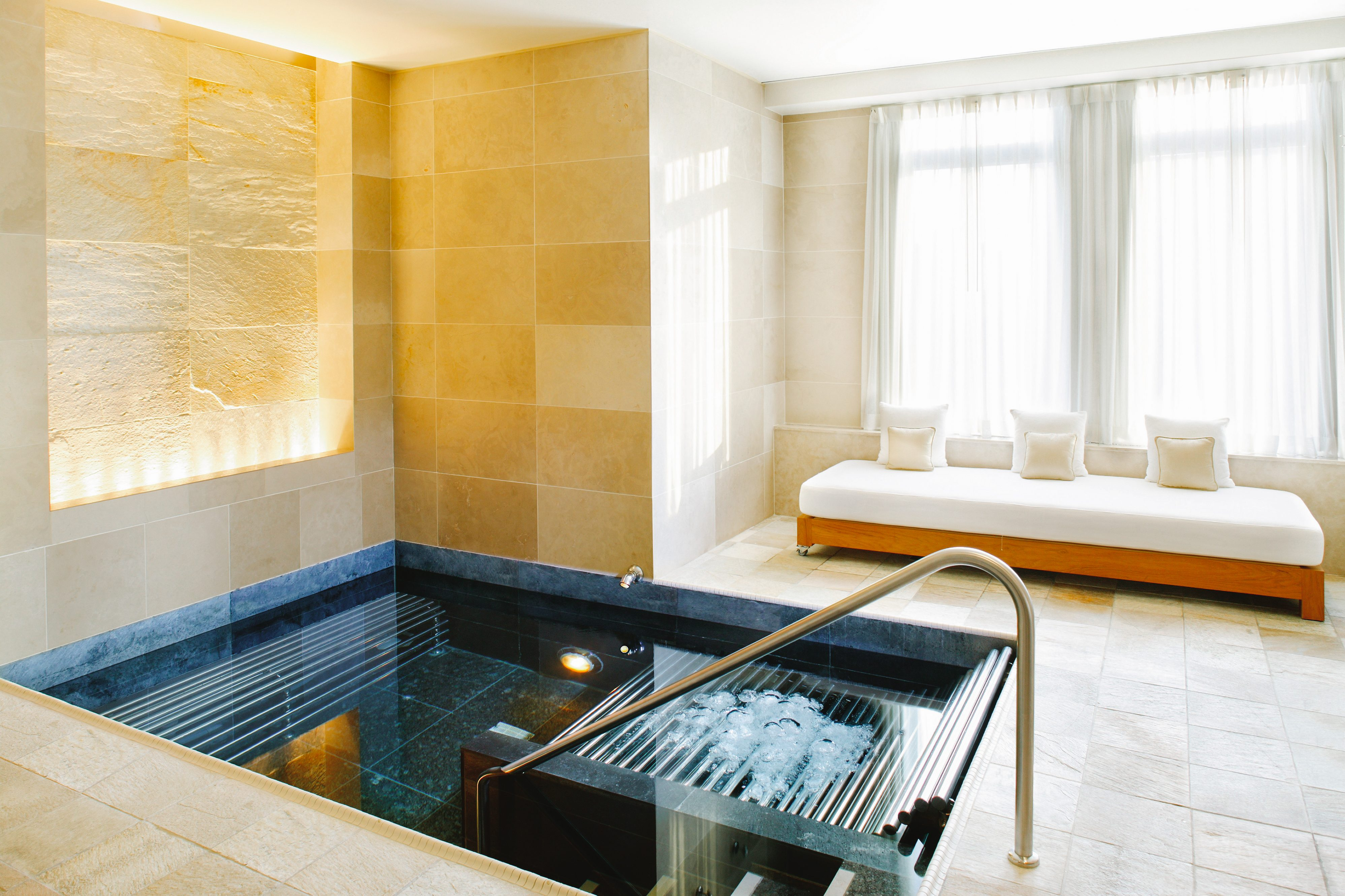 Vitality pool at the Spa at Mandarin Oriental, New York
