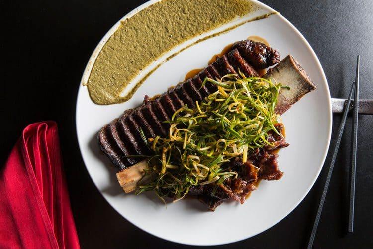 The steak at Ho Lee Fook, Hong Kong