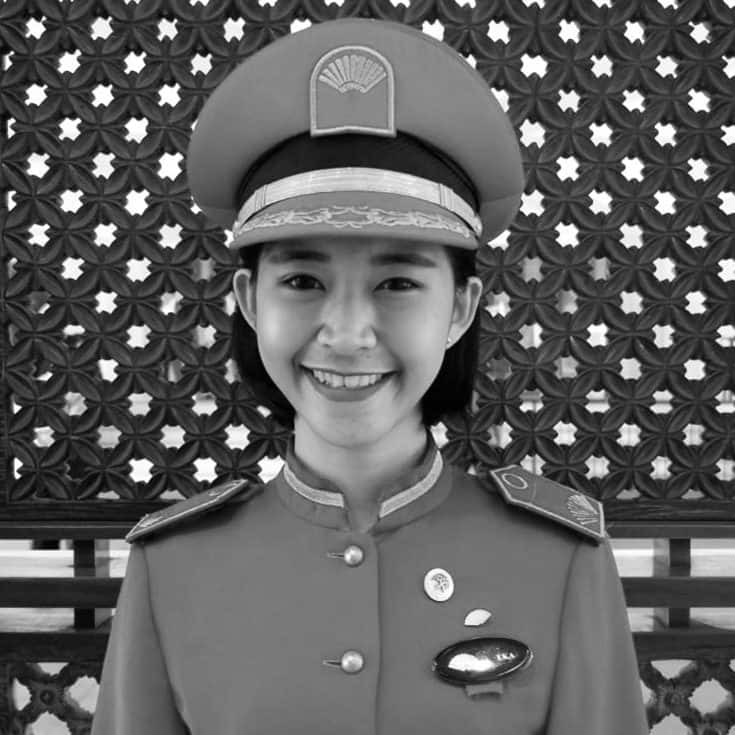 Eka Dewi Suciany, a Concierge Executive at Mandarin Oriental, Jakarta