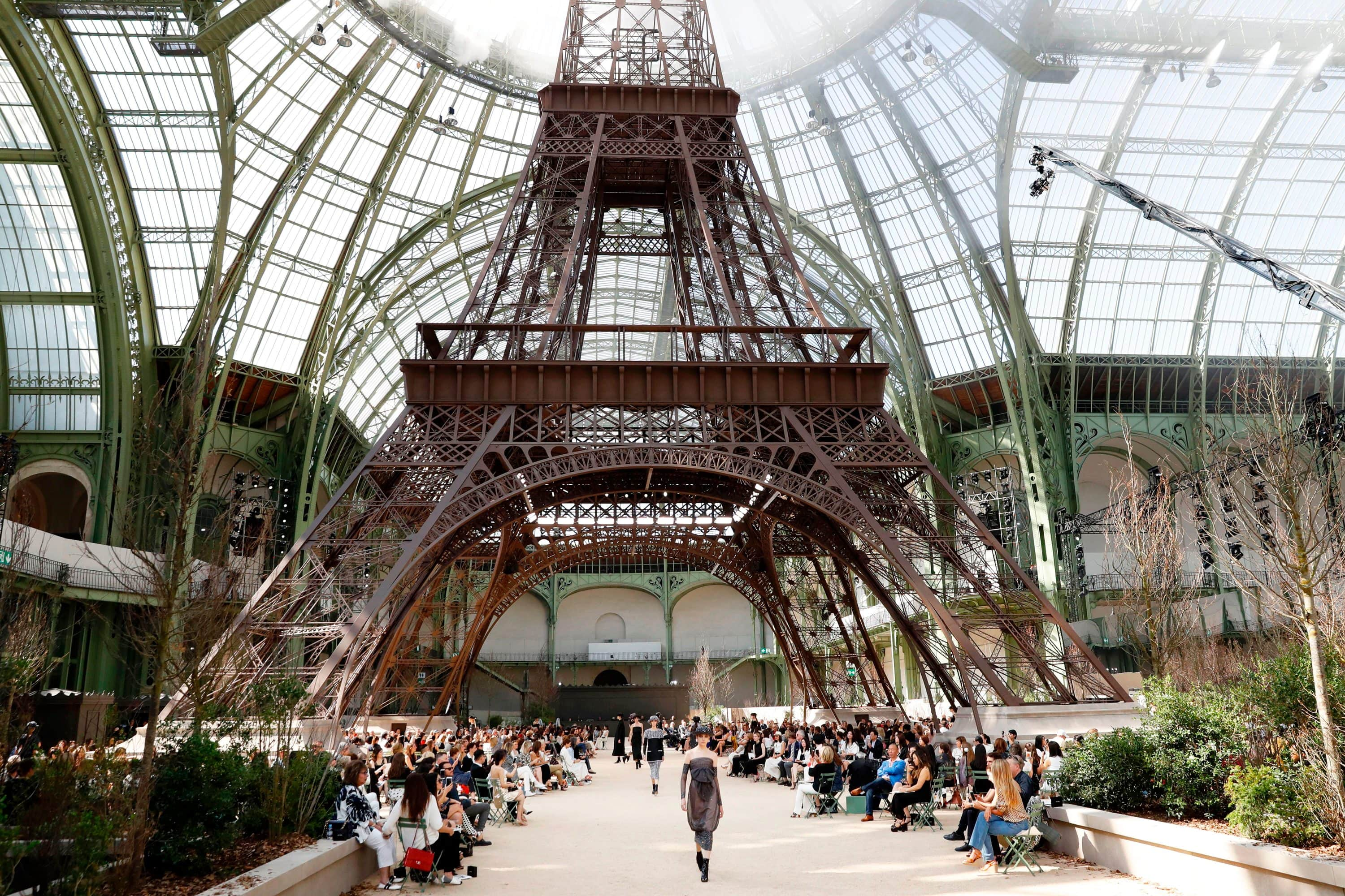 A miniature version of the Eiffel Tower